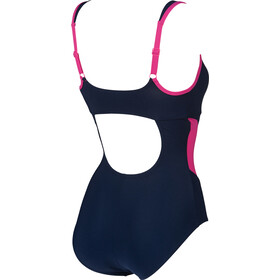 arena Makimurax One Piece Swimsuit Lage C-cup Dames, navy/rose violet